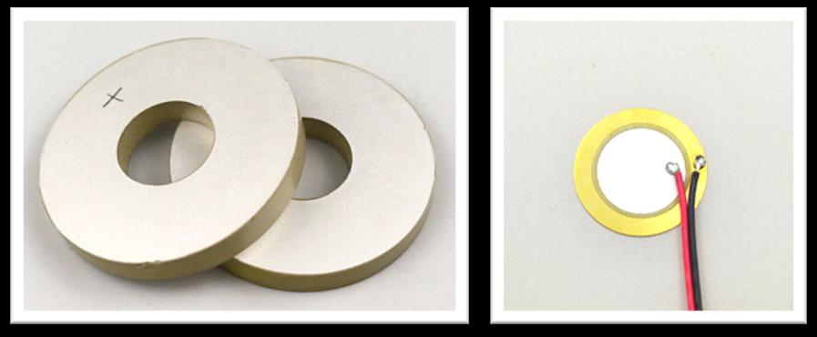 piezoceramic discs